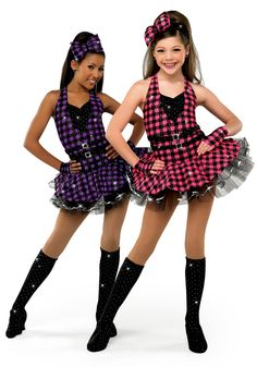 For everyone that wants to know the purple one was my jazz costume last year 2011-2012 dance season :)