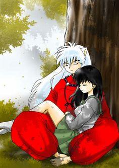 Inuyasha and Kagome - inuyasha Fan Art