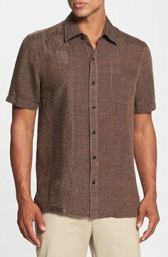 Nat Nast 'The 405' Regular Fit Linen Sport Shirt available at #Nordstrom