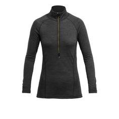 RUNNING WOMAN ZIP NECK - Devold - Devold of Norway Running Women, Zip, Norway, Jackets, Woman, Products, Fashion, Down Jackets, Moda