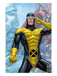 X-Men: First Class Finals Cover: Cyclops Marvel Comics Plastic Sign - 30 x 41 cm Marvel Dc Comics, Gay Comics, Marvel Heroes, Ms Marvel, Captain Marvel, Comic Book Characters, Marvel Characters, Comic Character, Comic Books Art