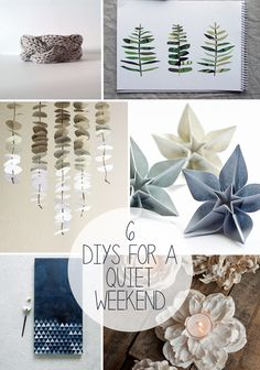 6 DIYs For A Quiet Weekend #amychristie