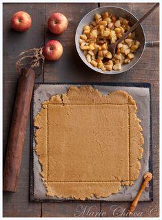 Tarte Vegan, Vegetarian Recipes, Healthy Recipes, Healthy Food, Vegan Pie Crust, Bamboo Cutting Board, Fondant, Biscuits, Gluten