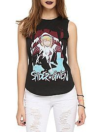 HOTTOPIC.COM - Marvel Spider-Gwen Girls Muscle Top