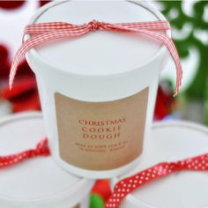 Inexpensive Gift Packaging Idea: Use Paper Ice Cream Containers