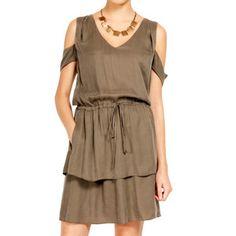 Torynn Shoulder Dress Canteen, $232, now featured on Fab.