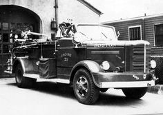 Boston, MA FD Engine 21 1948 Maxim/1949 FWD Hose Wagon. my home will be covered in black and white photos of the city.