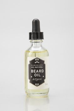 Soap Revolt Organic Argan Beard Oil - Urban Outfitters