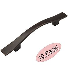 "$25 Cosmas 8902ORB Oil Rubbed Bronze Cabinet Hardware Handle Pull - 3"" Hole Centers - 10 Pack Cosmas http://www.amazon.com/dp/B00TJ6OAGG/ref=cm_sw_r_pi_dp_OfE9vb0FTQA73"