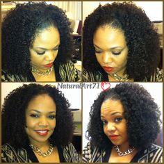 Wash n Go...Afro Kinky Curly & Kinky Curly REMIX!! Hair by KinkyCurlyYaki.com) 1 week & loving it!!