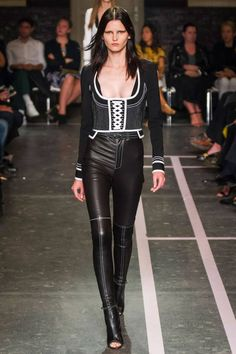 Givenchy Spring 2015. BAZAAR is selecting the best looks from Paris Fashion Week here.