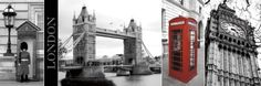 A Glimpse of London Prints by Jeff Maihara at AllPosters.com