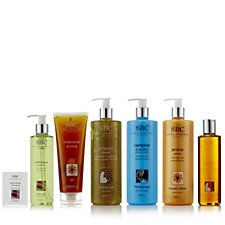 SBC 6 Piece Body Comforting Skincare Collection