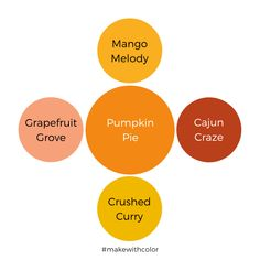 Color Inspiration - Part 5 - Mackenzie Makes Color Of The Week, All The Colors, Rich Colors, Wardrobe Color Guide, Red Color, Orange Color, Color Combinations, Color Schemes, Pumpkin Cards