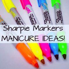 DIY Sharpie manicure ideas