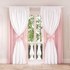 Curtain decoration – Home Decorating – Curtains 2020 Kids Room Curtains, Home Curtains, Teen Bedroom Designs, Girls Bedroom, Baby Room Decor, Bedroom Decor, Princess Curtains, Jugendschlafzimmer Designs, Rideaux Design