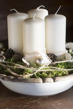 Adventskrans | www.vangelyst.dk #Danish #Christmas