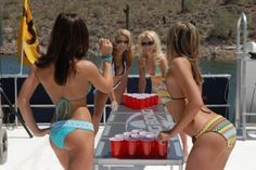 Beer pong with you? OKAY:) IM DOWN.    #beer #funny #sexy #girls #awesome #hot #food #drink #womendrinkingbeer