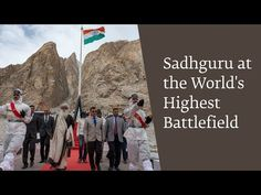 On June International Yoga Day, Sadhguru was at Siachen, the world's highest battlefield, to offer yoga to the brave soldiers of the Indian Army. International Yoga Day, Indian Army, Yoga Benefits, Yoga Meditation, Armed Forces, Mystic, Mount Rushmore, Spirituality, Journey