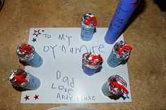 I HEART CRAFTY THINGS: To My Dynamite Dad