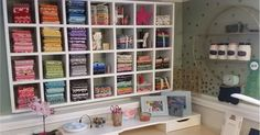 easy diy fabric stash organization - how to store your fabric, fat quarters, craft and scrapbooking supplies