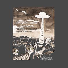 UFO arche - Resonance - then we'll better go - Wildlife Conservation - T-Shirt | TeePublic T Shirt Designs, Wildlife Conservation, Ufo, Movie Posters, Animales, Film Poster, Tee Shirt Designs, Billboard, Film Posters