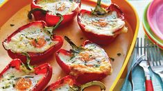 Looking for a barbecue brunch or breakfast for dinner on the grill? Try our Grilled Red Pepper Egg Cups recipe from Sobeys. Eggs are baked on the grill into the centre of smokey peppers. The cheesy rich centre uses edam cheese for a mild, nutty finish.
