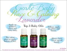 Best Essential Oils to use for babies   For more info or to order, come visit: www.thesavvyoiler.com