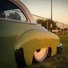 "49/50 Chevy With 20"" Steelies (Detroit Steel Wheels)"