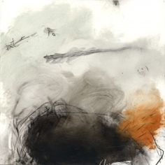 Cheryl Taves, Drift no.8, Oil, graphite and charcoal on Mylar