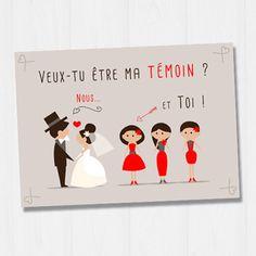 Bonjour, Je vous présente une jolie carte, parfaite pour demander à votre amie, votre sœur ou encore votre cousine d'être votre témoin pour le plus beau jour de votre vie ! - 15660145