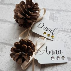 New Place Cards now available - soooo perfect for a glamorous Christmas Dinner table! More