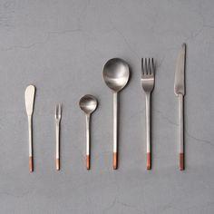純銅洋食器 デザートスプーン 銀仕上 | COOPSTAND online store