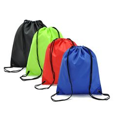 2016 Waterproof Nylon Storage Bags Drawstring Backpack Baby Kids Toys Travel Shoes Laundry Lingerie Makeup Pouch #Affiliate