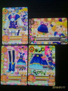"""Trading card of Japanese Idol Animation """"AIKATSU"""" Choco-Pop Scoop coordinate 