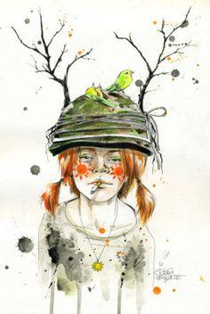"""""""Sun"""" Lora Zombie - Definitely a great artist!"""