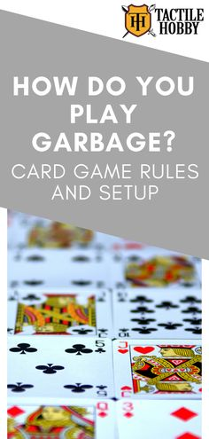 Garbage helped save my sanity during the summer break when all three kids were at home. This card game is fun, easy to play, and can keep children preoccupied for hours. So, I thought it would be a great idea to share the game with you as it makes for… Math Card Games, Family Card Games, Playing Card Games, Dice Games, Fun Games, Best Card Games, Group Card Games, Craft Work For Kids, Easy Games For Kids