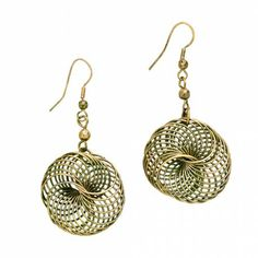Spinning Energy Earrings - Earrings - Jewelry - Products