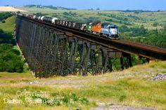North Dakota Abandoned Rail Lines   hi line train 2