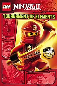 LEGO Ninjago Graphic Series -- On Master Chen's island, nothing is as it seems, and no one is to be trusted. But if the Ninja want to find Zane, they must enter the Tournament of Elements. Join Lloyd, Kai, Cole, and Jay as they face off against dangerous traps, giant serpents, and the most villainous Elemental Masters. Will they survive long enough to find their friend?