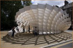 Parametric design for public space, it's just awesome!