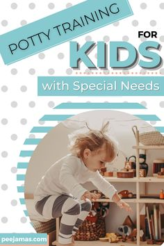 Most children are ready to begin potty training between the age of 2. Here are six must-haves plus equipment for potty training your kids with special needs. Help your little one toilet train fast by following a consistent routine. Will give you some extra tools that might help make things a little easier. If you are toilet training your toddler then these tips will help! #potty #pottytraining #toilettraining #toilet #pottytime #pottytrainingproblems #pottytrainingboys #pottytrainingtips
