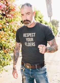 Sheehan & Co. Respect Your Elders Tee