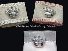 12 PRINCESS BIRTHDAY PARTY Silver Crown by CustomNapkinRings