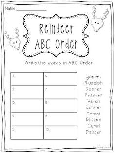68 besten ABC order Bilder auf Pinterest | Kindergarten, Alphabet ...