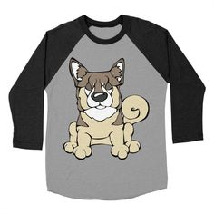 Calling all Swedish Vallhund Lovers!  Check this design as well as 100s more designs in the Angry Squirrel Studio Threadless Artist Shop. Available in multiple colors and styles. #threadless #artistshop #angrysquirrelstudio #dogsofpinterest #SwedishVallhund https://angrysquirrelstudio.threadless.com