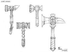 11b.jpg - Warhammer Dwarf Concept Artwork - Gallery - Bugmans Brewery - The Home for all Warhammer Dwarf Fans