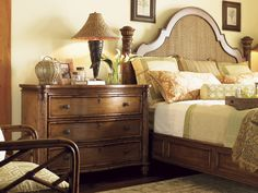 Island Estate Round Hill Bed 6/6 King | Lexington Home Brands