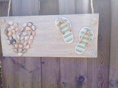Creatief met steigerhout en schelpen!