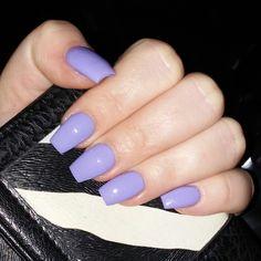 My nails!  Liz Choi @ vanity beauty bar, bakersfield CA. #coffin #nails #medium #length #lightpurple #purple #OPI #polish